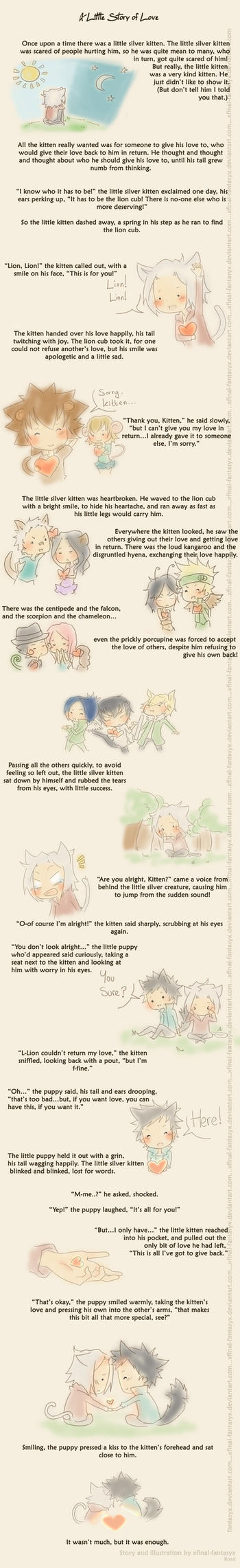 KHR: A little story of Love. by everyredqueen