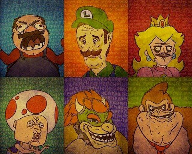 Super Mario Bros. Memes by Paublillo1