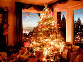 christmas tree by beckawalley