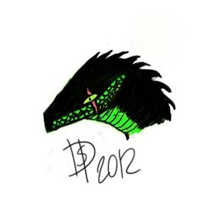 dragon... new tablet...pratice by HiroMaruma