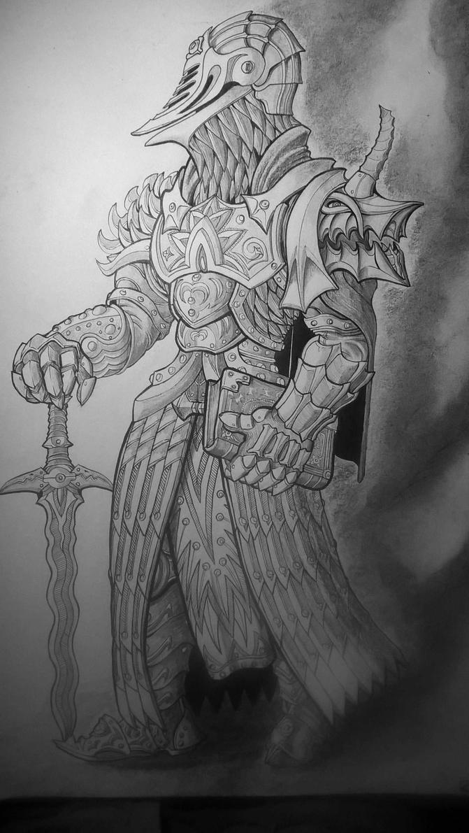 Lord Inquisitor Draven Blacktyde by BoneMarrowBrother