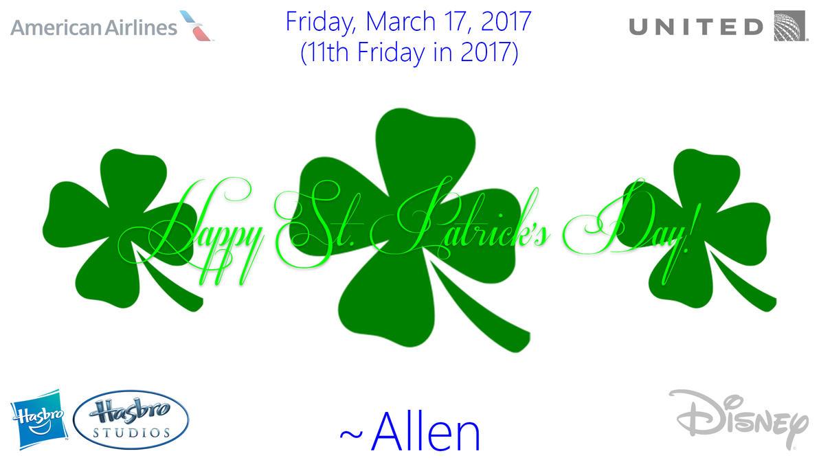 Happy St. Patrick's Day 2017 by AllenAcNguyen