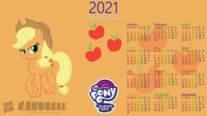 Applejack 2021 Calendar