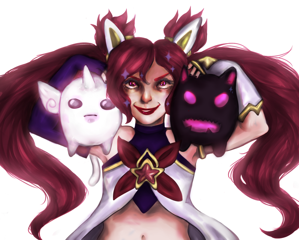 Star Guardian Jinx [SPEEDPAINT ON YT] by AndyMuffinm