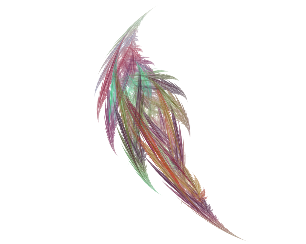Fractal Feather by PapaBearKC