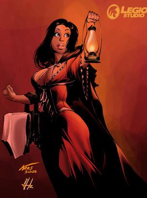 Little Red Riding Hood by legiostudio