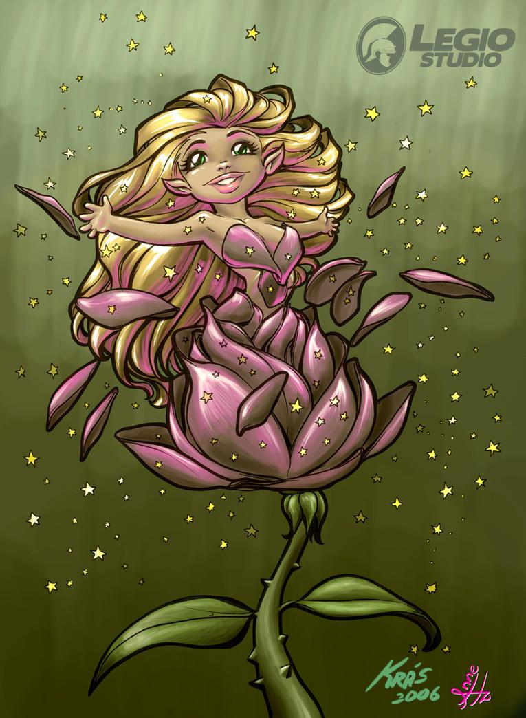 Baby Fairy by legiostudio