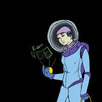 spacesuit sketch by Elerd