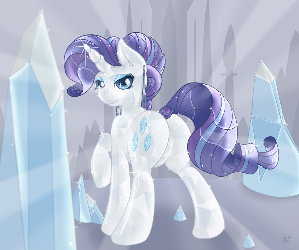 A crystal Rarity by RatofDrawn