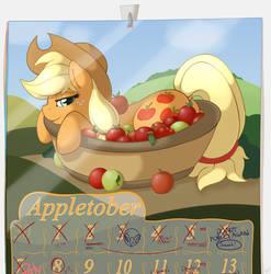Appletober by RatofDrawn