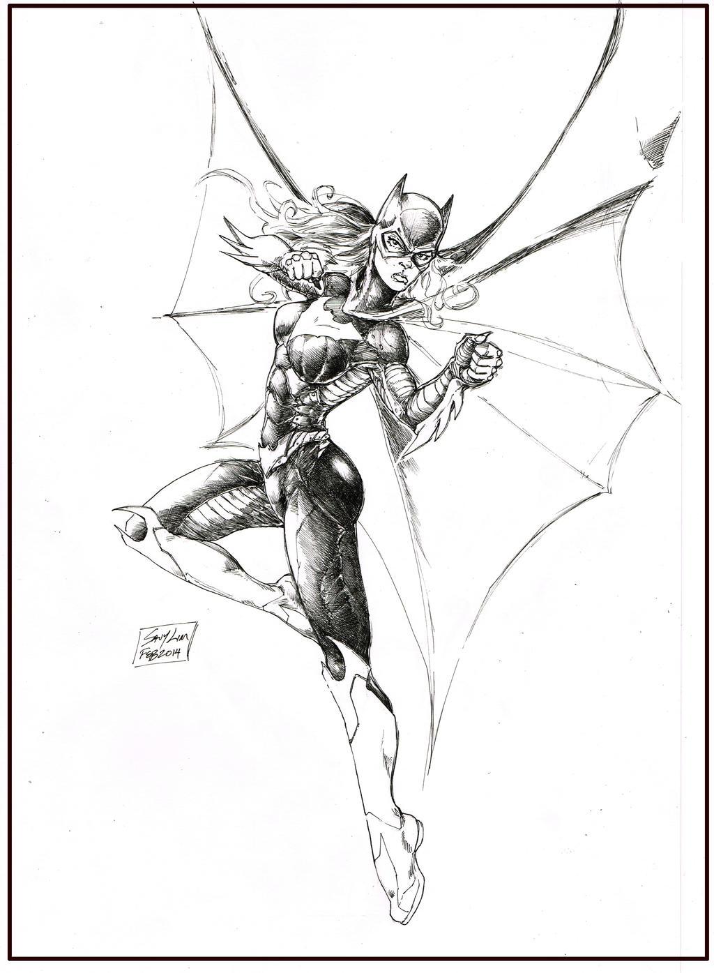 BatGirl Kung Fu Savy Lim by SlimJive