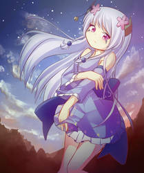 Yuna by wallmask3