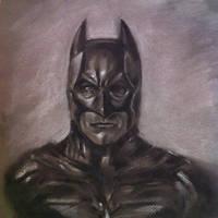 Charcoal Batman by makwacheong