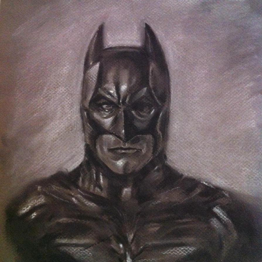 Charcoal Batman By Makwacheong On DeviantArt