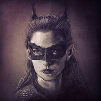 Catwoman by makwacheong