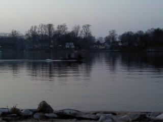 Twilight Boat Ride by Tomboysupergeek