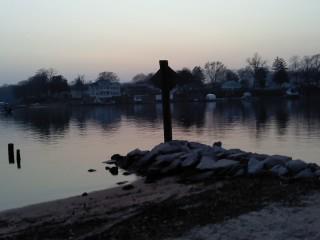 Twilight on the Water by Tomboysupergeek