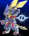 MetalGarurumon Badge