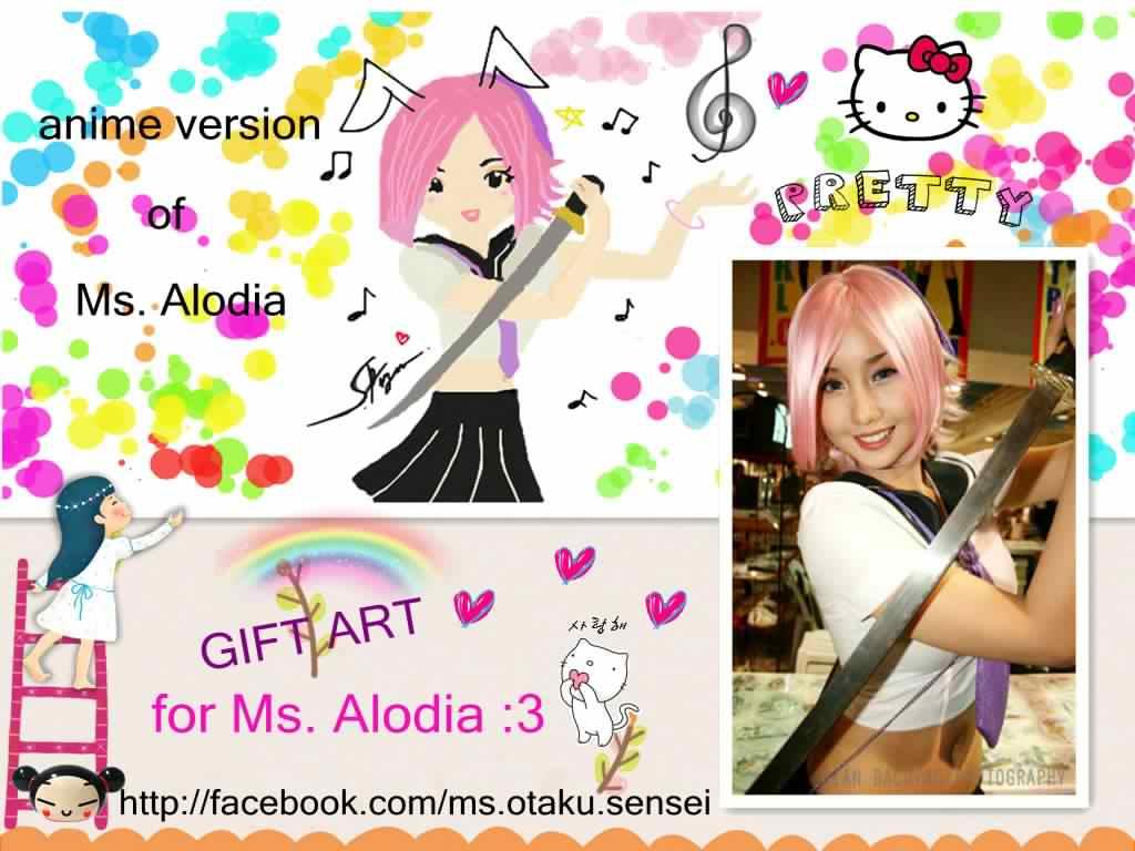 + Chibi Alodia + by ms-otaku-sensei