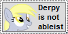 Derpy's NOT Ableist by TheUnicornLord