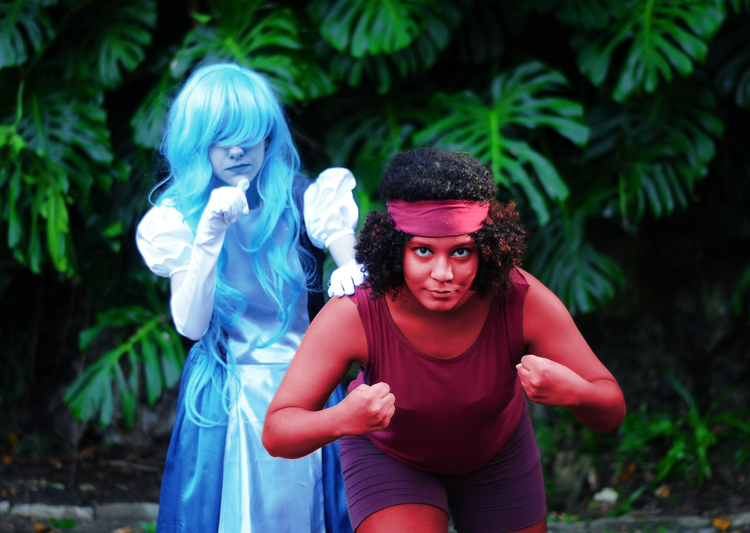 Ruby x Sapphire Cosplay #1 by meistertania