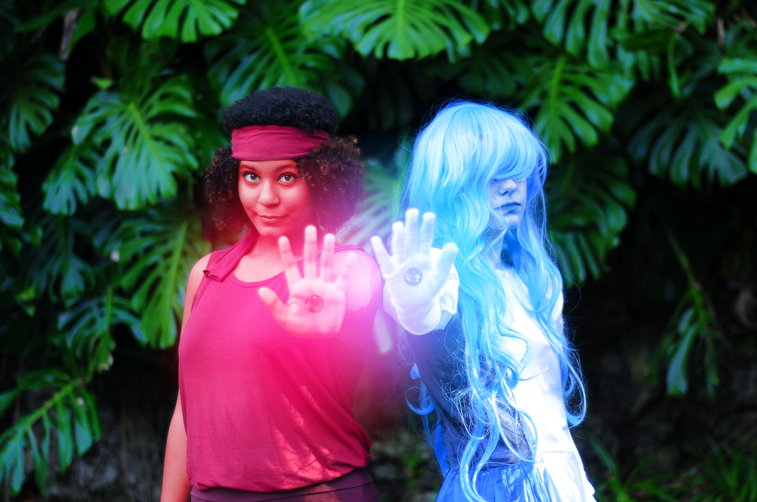 Ruby x Sapphire Cosplay #2 by meistertania