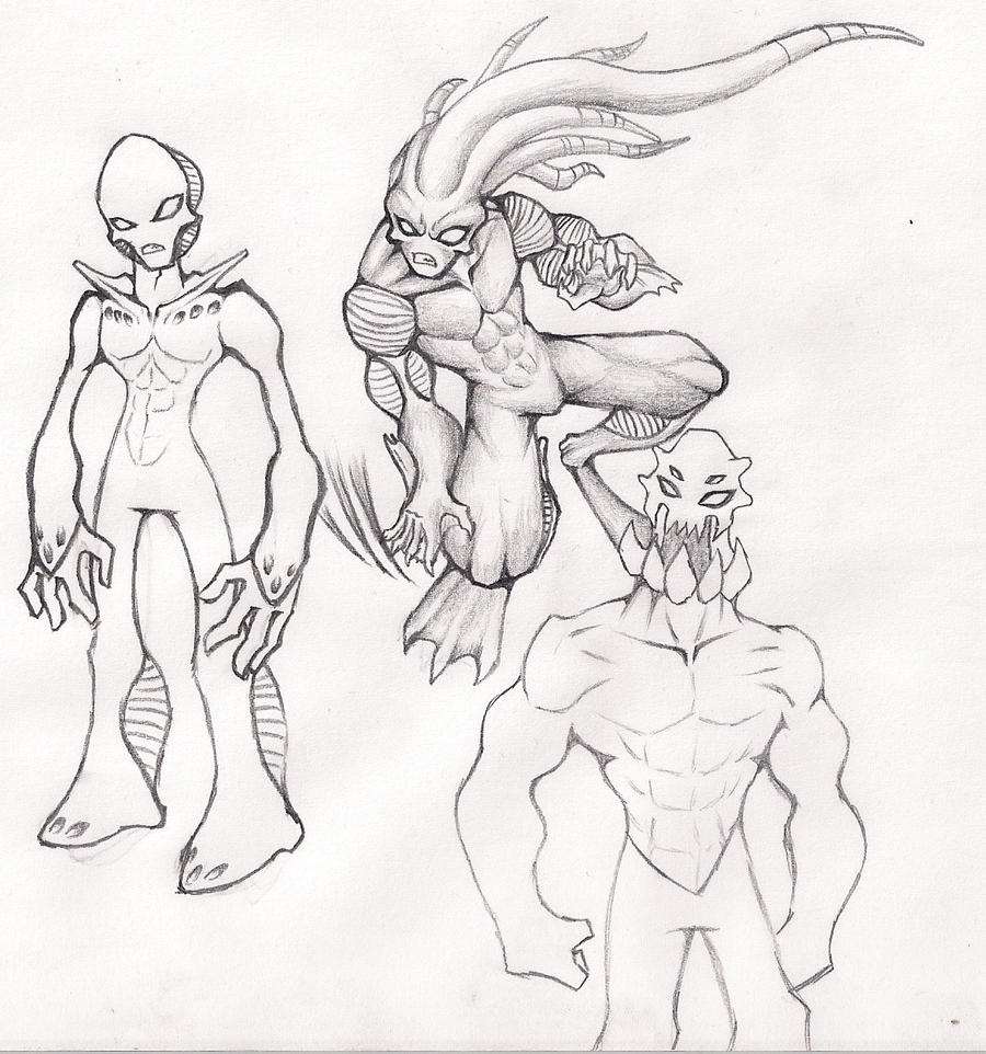 [Image: Random_Aliens_Monsters_by_out_hell_f.jpg]
