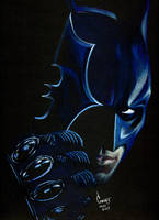 Batman Dark Knight by mfilogomes