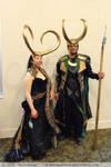 Lady Loki with Avengers Loki