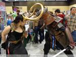 Locking Horns with Samurai Vader
