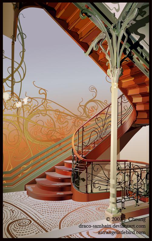 Hotel Tassel Stairwell