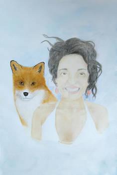 Spirit Animal Portrait - Lisa Saven