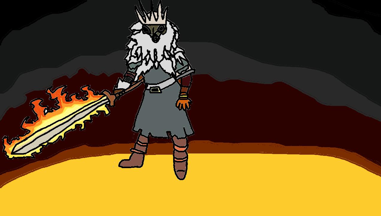 Soul Of Cinder Fan Art: Dark Souls Gwyn Lord Of Cinder By Sander4820 On DeviantArt