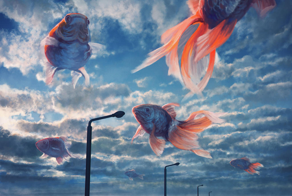 Fish Cloud by kakotomirai