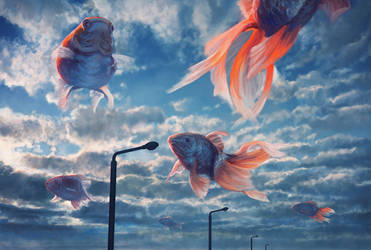 Fish Cloud by kakotomirai