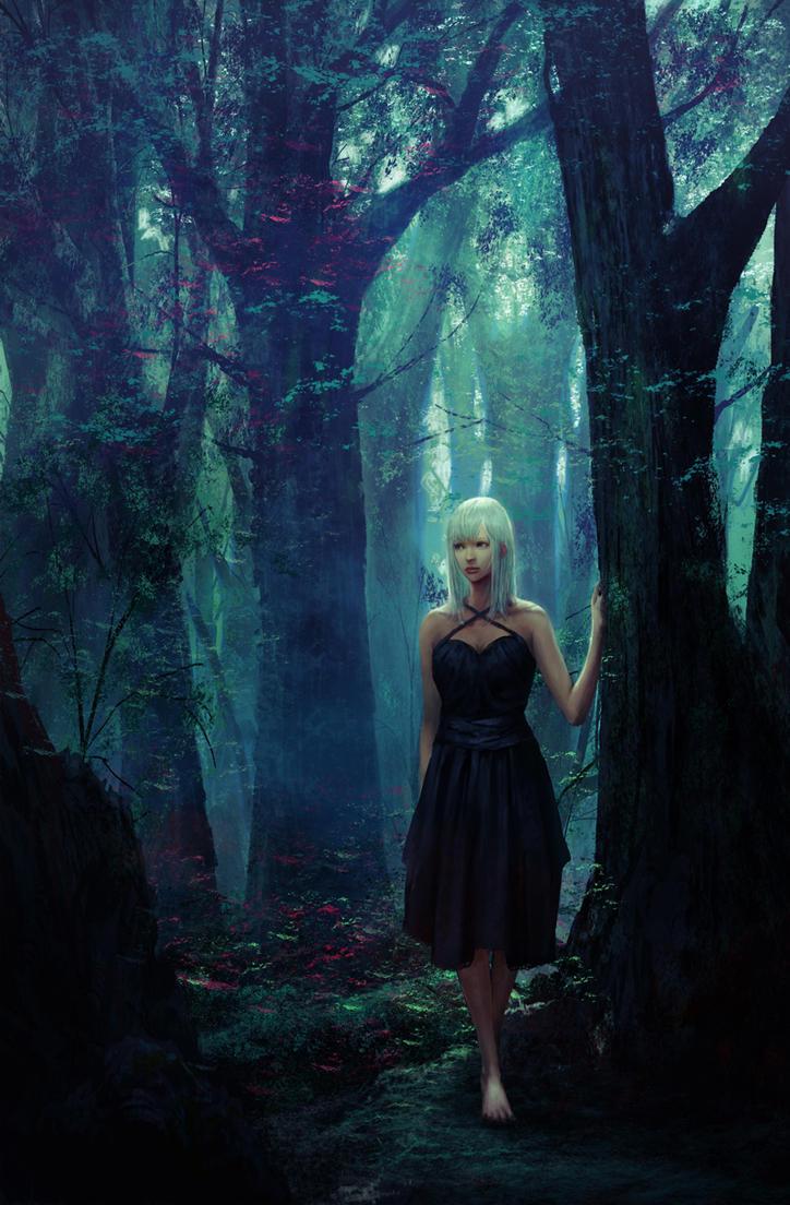 forest by kakotomirai