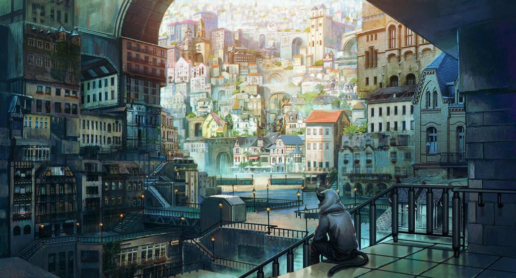 bedroom town syndrome by kakotomirai
