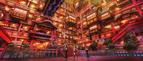 Alice in asian world by kakotomirai