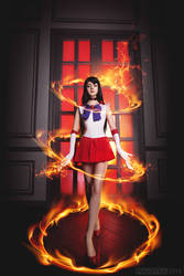 Sailor Mars by AlienOrihara