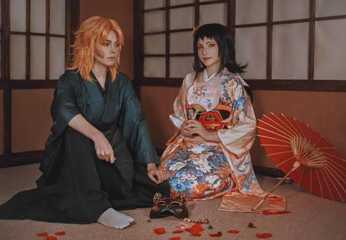 Kimetsu No Yaiba - Sabito and Makomo