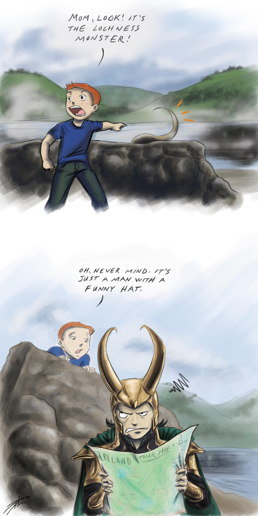 Lochness Loki by rice-claire