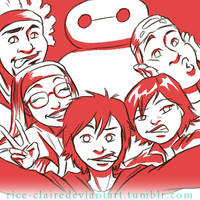 BH6 Group Shot by rice-claire