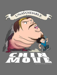 Unavoidable Chin Move by rice-claire