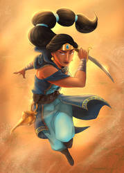 Warrior Jasmine