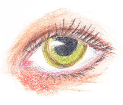 Eye by thewolftroll