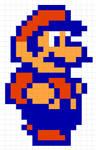 SMB2 Mario sprite