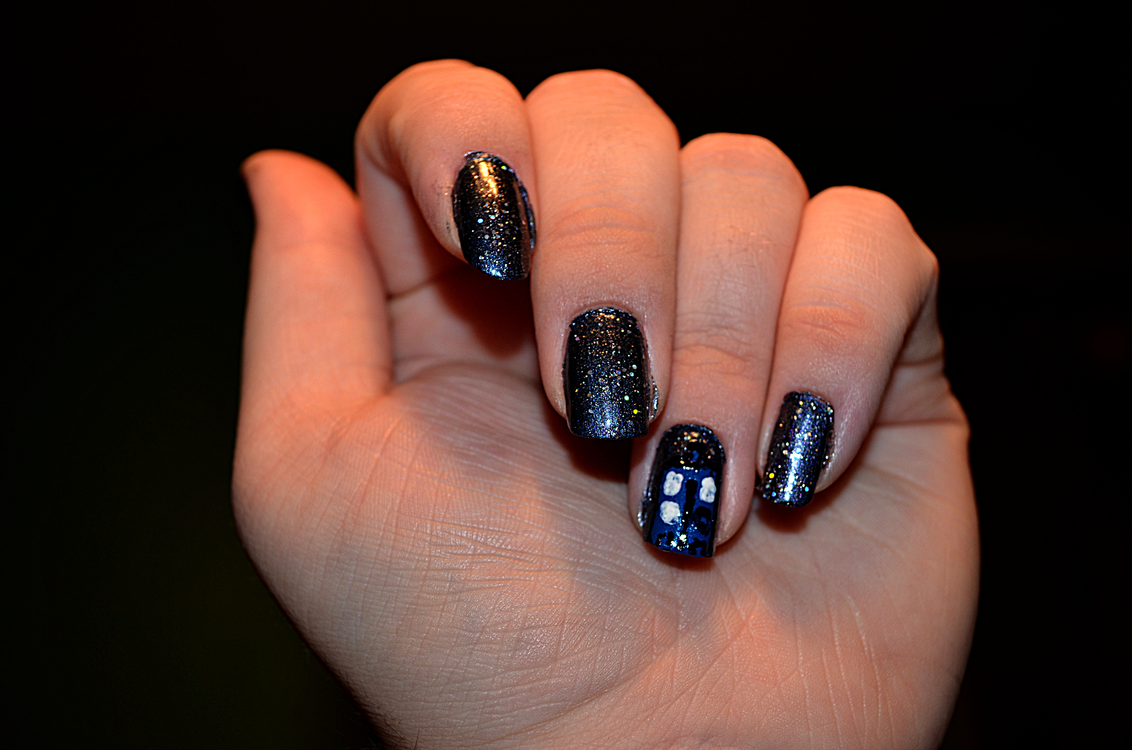Space tardis nail art by sailorjessi on deviantart space tardis nail art by sailorjessi prinsesfo Gallery