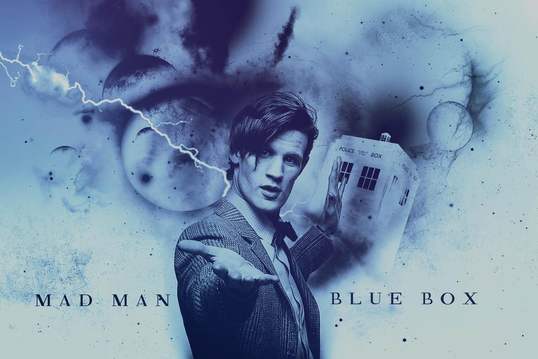 Mad Man. Blue Box. by sorryeyescansee