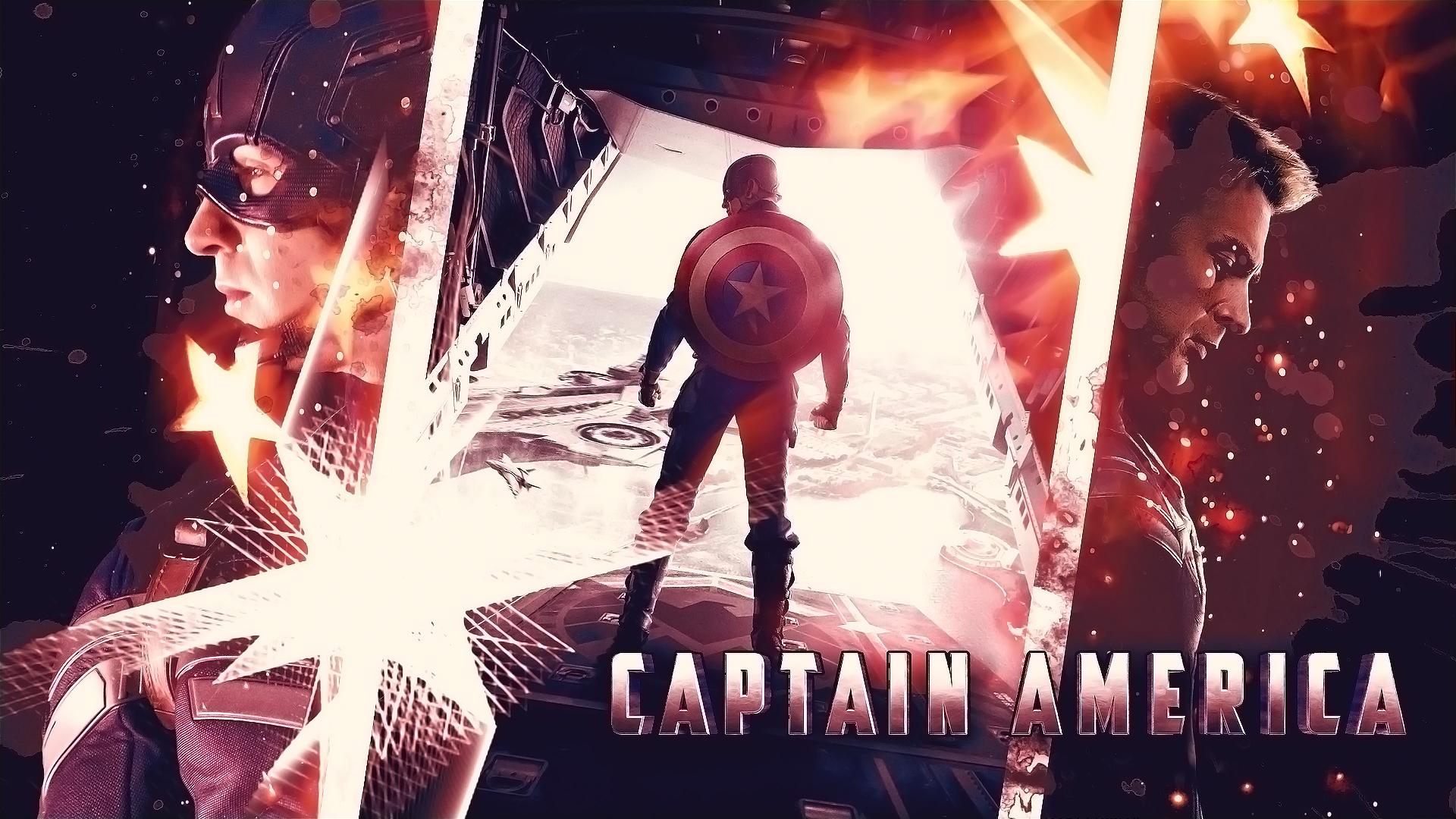 Captain America by sorryeyescansee