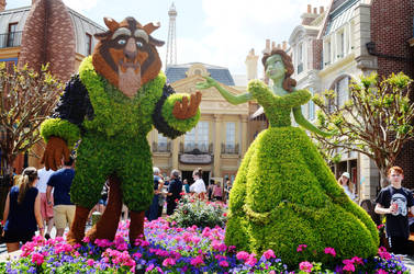 Epcot's Flower and Garden - Beauty and the Beast
